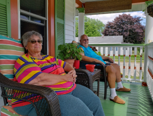 Oshkosh couple opens porch for community conversations