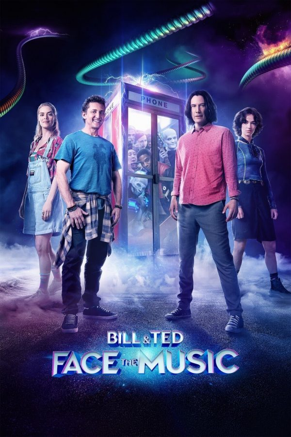 Bill and Ted Face The Music Theatrical release poster