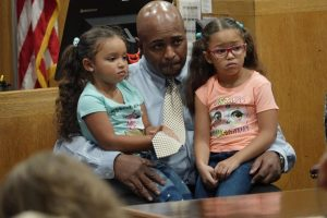 FIXED photos by UW Oshkosh alumnus Michael Cooney or provided by FIXED participants Thanks to the Winnebago County Drug Court, Myron Batiste has become a devoted father to his two daughters.