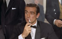 "Connery, as James Bond, in ""Dr. No."" He would go on to reprise the role six more times, with his final entry in the series being 1983's elegiac ""Never Say Never Again."""