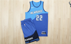 "Photo: Bucks News Milwaukee Bucks will debut new ""great lakes blue city edition"" uniforms for the 2020-21 season, launching on Dec. 3."