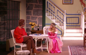 "A scene from ""Vanya and Masha and Sonia and Spike,"" which is airing on the theatre department"