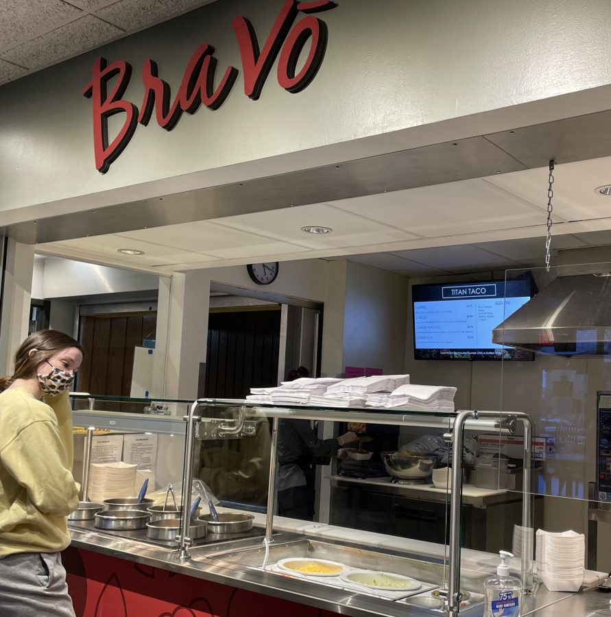 Bravo pizza restaurant replaced as Titan Taco front at UW Oshkosh