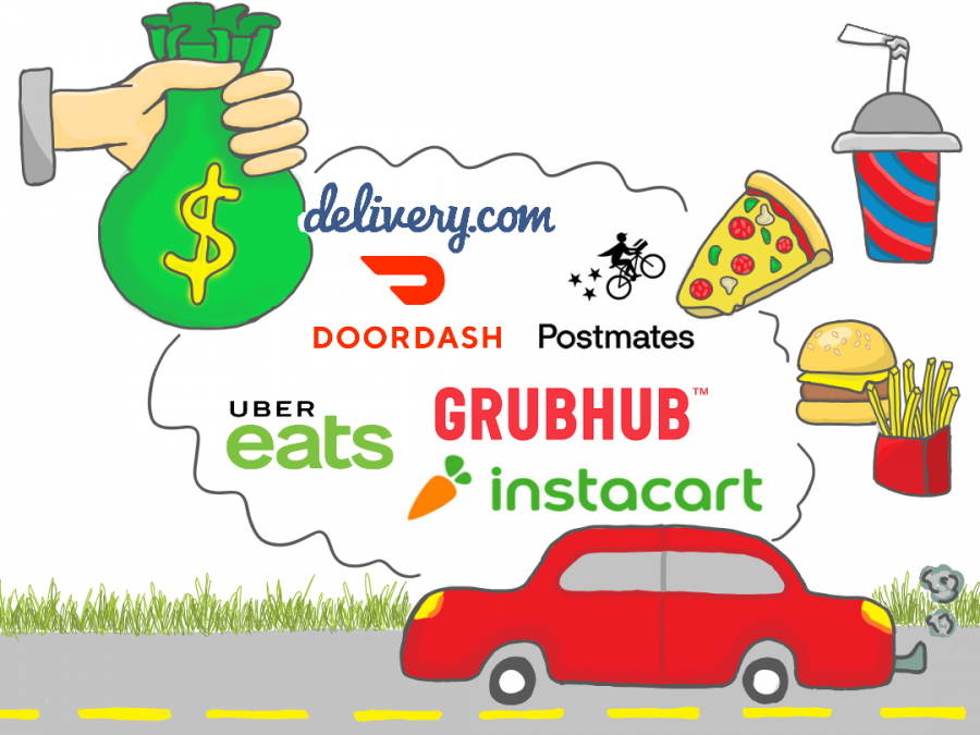 Katie Pulvermacher / Advance-Titan Ordering food on delivery services such as DoorDash can mean you are paying up to 40% more than if you were ordering that same thing in person.