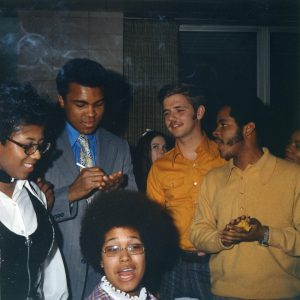 Photo of Muhammad Ali // Courtesy of UWO Archives
