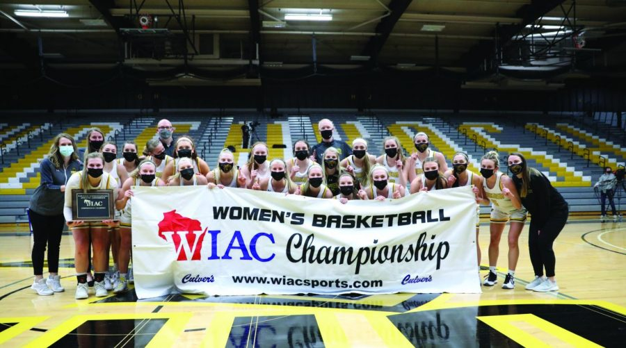 Courtesy of the UWO women's basketball Instagram UW-Whitewater's 58-point scoring total in the WIAC championship was the second lowest scoring game the team had all year. The lowest scoring performance by UWW was when UW Oshkosh held them to 51 points in a 69-51 UWO win on Feb. 12.