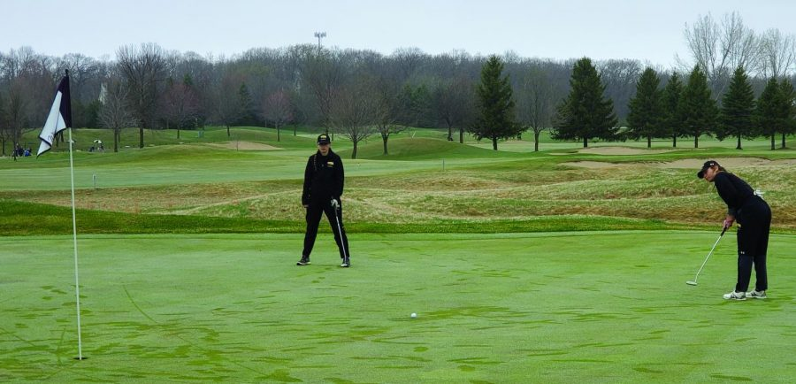 Courtesy of the UWO athletics page  Priebe shot the lowest round of the team last year with a 71, and this year both Footit and Differt have the team's lowest round with an 87 (+15) in the Marian University Invitational on Saturday.