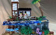 """Courtesy of Oshkosh Public Library """"Tropical Outpost,"""" the first place winner for ages 9-10."""