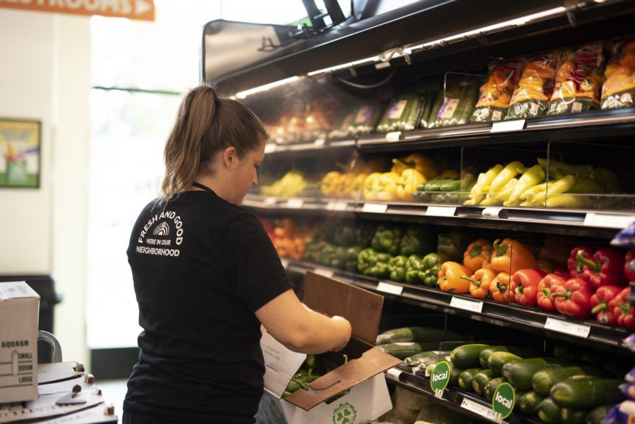 April Lee / Advance-Titan The Oshkosh Food Co-op, pictured above, is one of the closest groceries stores to campus; being located at the corner of Jackson Street and Pearl Avenue.