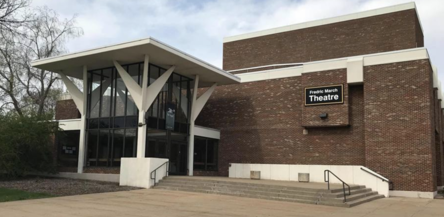 The Advance-Titan UW Oshkosh dedicated its newly constructed theater in actor Fredric Marchs name in 1971.