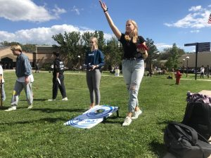 Kelly Hueckman / Advance-Titan Fox Cities Students were given the opportunity to get the college experience that many of them didn't have due to the pandemic.