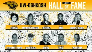 UWO inducts largest class yet into Titan Hall of Fame