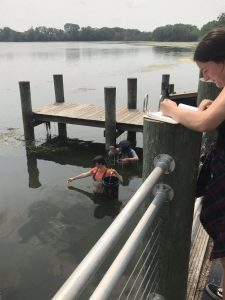 Courtesy of Shannon Davis-Foust UWO's Sustainability Institute for Regional Transformations has recently established the Winnebago Pool Lakes Harmful Algae Blooms Project. This project helps the public understand how harmful the algae blooms are