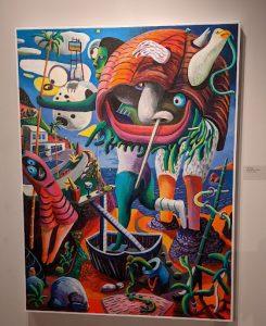 Tom Antrim / Advance-Titan Beach Scene #1 by Leif Larson at the Annex Gallery
