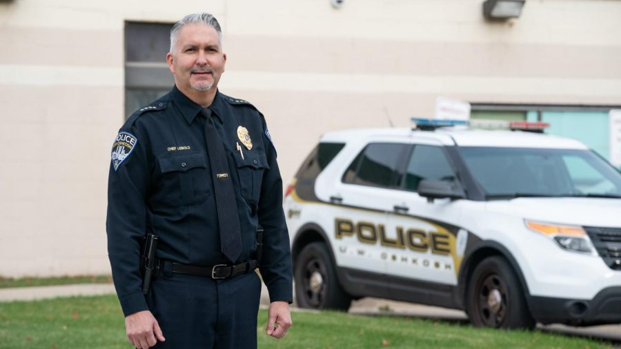 Courtesy of UWO Flickr Along with being the Chief of Police at UWO, Leibold is the Clery Coordinator and Disaster and Emergency Management Director. Before working at the university, Leibold spent 26 years with the Milwaukee Police Department.